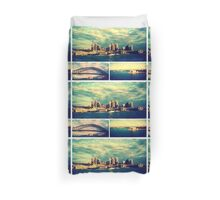Postcards from Sydney Duvet Cover