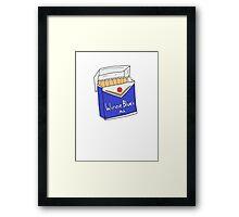 Winnie Blues Mate Framed Print