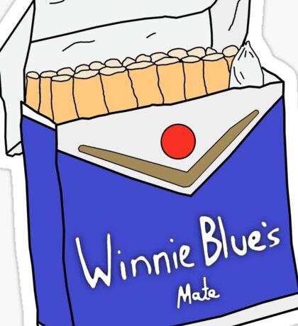 Winnie Blues Mate Sticker