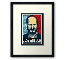 Joss Whedon Is My Master Now Framed Print