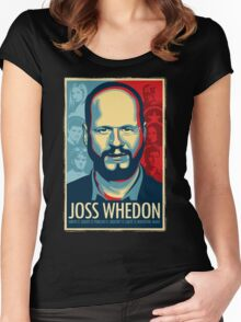 Joss Whedon Is My Master Now Women's Fitted Scoop T-Shirt