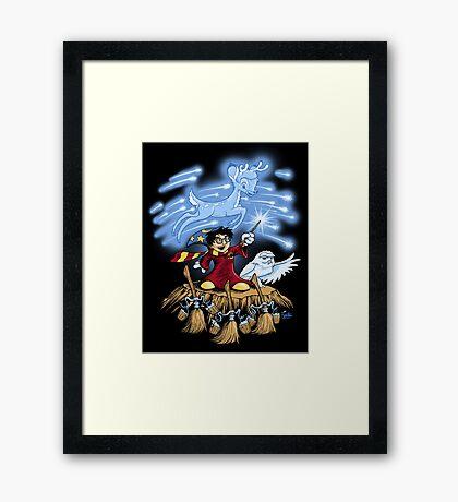 The Wizard's Apprentice Framed Print