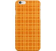 Orange and Yellow Plaid iPhone Case/Skin