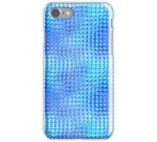 Nubby Blue Glass iPhone Case/Skin