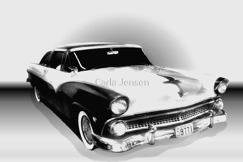 1955 Ford Crown Victoria by Carla Jensen