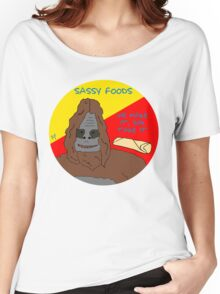 Big Lez Show - Sassy Foods Women's Relaxed Fit T-Shirt