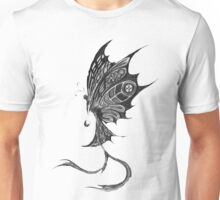 Ghotic Butterfly Unisex T-Shirt