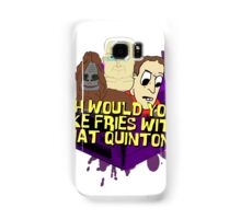 Would you like fries with that - big lez Samsung Galaxy Case/Skin