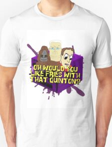 Would you like fries with that - big lez T-Shirt
