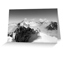Mont Blanc Greeting Card