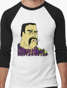 Big Lez Show - Mike 'Nolsey' Nolan Men's Baseball ¾ T-Shirt
