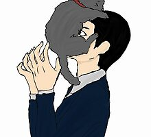 Jim Moriarty and cat by RoryD