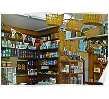 Interior Corner of Speciality Foods Shop Poster