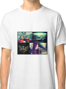 Trains Collage Classic T-Shirt