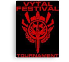 Vytal Fesitval Tournament - Red Canvas Print