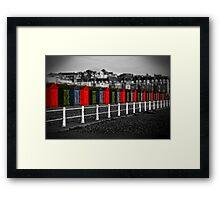 By the Seaside Framed Print