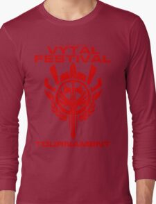 Vytal Fesitval Tournament - Red Long Sleeve T-Shirt