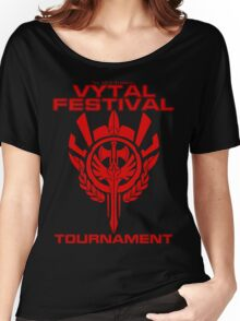 Vytal Fesitval Tournament - Red Women's Relaxed Fit T-Shirt
