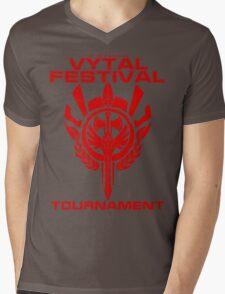 Vytal Fesitval Tournament - Red Mens V-Neck T-Shirt