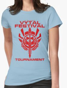 Vytal Fesitval Tournament - Red Womens Fitted T-Shirt
