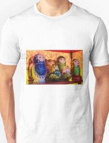 Funky Russian Puzzle Dolls T-Shirt