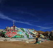 Salvation Mountain by Laurie Search
