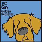 Golden Retriever - The Dog Table by Angry Squirrel Studio