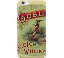 Goblin Scotch Whiskey iPhone Case/Skin