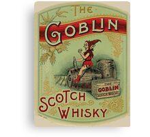 Goblin Scotch Whiskey Canvas Print