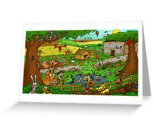 Educational Countryside Image Greeting Card