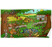 Educational Countryside Image Poster