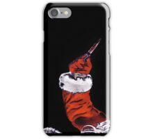 BLACK XMAS: You better watch out! iPhone Case/Skin