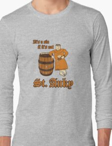 St. Anky Beer Long Sleeve T-Shirt
