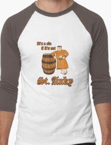 St. Anky Beer Men's Baseball ¾ T-Shirt