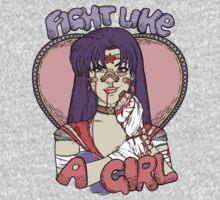 Sailor Moon - Fight Like A Sailor (Sailor Mars) One Piece - Short Sleeve