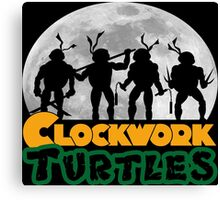 Clockwork turtles Canvas Print