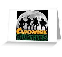 Clockwork turtles Greeting Card