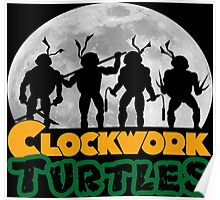 Clockwork turtles Poster