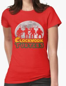Clockwork turtles Womens Fitted T-Shirt