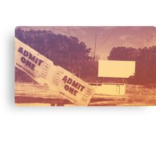 Drive-in Theater by Jan Marvin Canvas Print