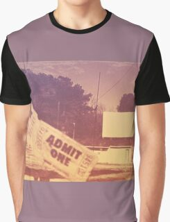 Drive-in Theater by Jan Marvin Graphic T-Shirt