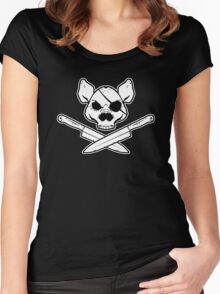 The Jolly Porker Women's Fitted Scoop T-Shirt