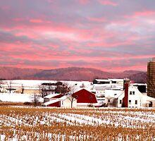 Winter on the Farm by Randy & Kay Branham