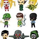 Chibi Villains 2 by artwaste