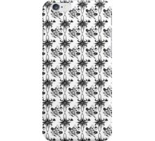 Flowers on White iPhone Case/Skin