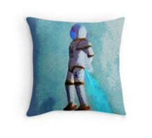 Space Jumping Throw Pillow
