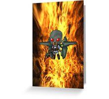 Chibi Firefly Greeting Card