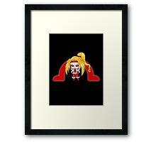 Chibi Omega Red Framed Print