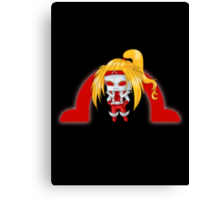 Chibi Omega Red Canvas Print