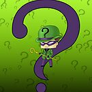 Chibi Riddler by artwaste